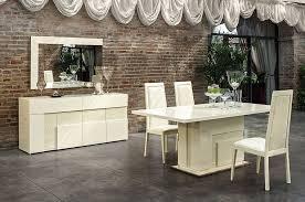 italian high gloss furniture. Italian Beige High Gloss Dining Room Furniture Set I