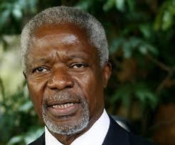 Der ehemalige Uno-Generalsekretär Kofi Annan hat am Montagabend in Rüschlikon den Gottlieb-Duttweiler-Preis erhalten. In seiner Dankesrede rief er die ... - original