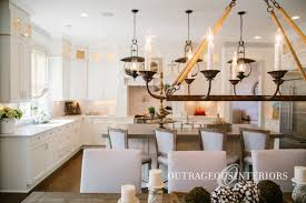 rustic industrial white kitchen elegant industrial style chandeliers and pendants at outrageous interiors