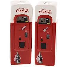 Coke Vending Machine Refund Inspiration Amazon CocaCola Vending Machine Home Collectible Salt And