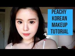 peachy makeup korean makeup tutorial bahasa indonesia