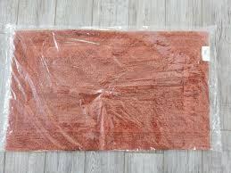 abyss habidecor cotton reversible contour bath rug 23x23 color 370 turquoise for