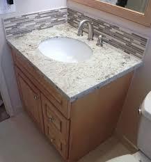 24 inch vanity with top and backsplash. how to install vanity,granite top,stone glass backsplash\u0026 schluter bt tilinginfo - youtube 24 inch vanity with top and backsplash e