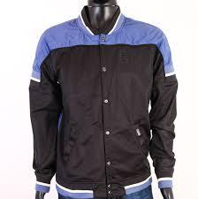 Details About R G Star Raw Mens Jacket Baseball Black Size Xl