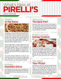 Newletter Example Example Of A Newsletter How To Start A Newsletter With