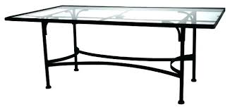 glass top patio table glass top patio table dining gorgeous room wrought iron inch replacement round