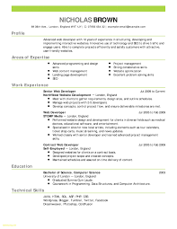 Java Developer Resume 5 Years Experience New Job Resume Templates