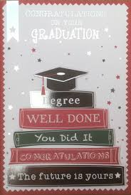 Pauls Party Zone Congratulations On Your Graduation Greeting Card