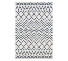 dhalilah indoor outdoor rug indigo multi