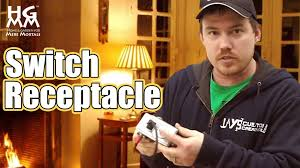 how to wire and install a switch receptacle how to wire and install a switch receptacle
