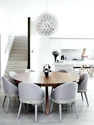 houzz dining chairs exle of a trendy kitchen dining room bo design in with white walls