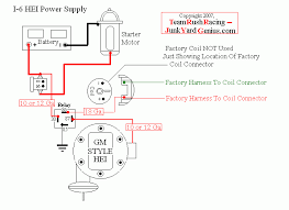 hei and starter wiring diagram hei auto wiring diagram schematic chevy hei wiring 2wire system chevy home wiring diagrams on hei and starter wiring diagram