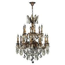 french xvi style bronze and crystal chandelier oil rubbed drum 8 lights decorative crystal chandelier lighting modern