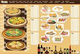 Free Food Menu Template New Restaurant Menu Design Template Vector Free Vector In Encapsulated