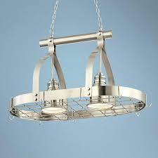 pot rack chandelier with downlights 2 light brushed nickel finish hanging pot rack chandelier pot rack pot rack chandelier with downlights