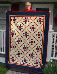 7 Traditional Quilt Patterns Guaranteed to Impress & Craftsy Quilting Pattern: Medal of Honor Quilt Adamdwight.com