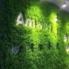 fake grass decor whole plastic foliage decoration leaf wall garden wall decor artificial grass wall artificial