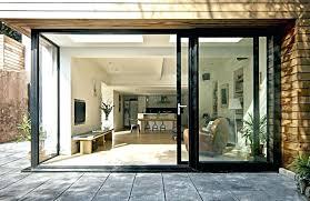 pocket exterior sliding pocket doors with glass multi track intended pocket sliding glass doors