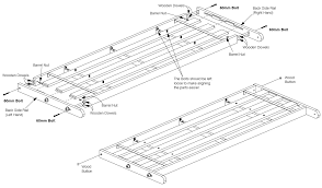 assembly instructions futon frame parts bm furnititure