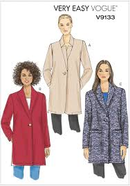 Coat Sewing Patterns Inspiration Misses Jacket Vogue Sewing Pattern 48 Sew Essential