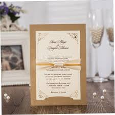 Customized Insert Wedding Party Multi Occation Gold