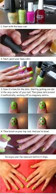 20 Simple Step By Step Polka Dots Nail Art Tutorials For Beginners ...