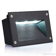 new recessed led floor lights 3w 5w stair lighting led step light waterproof outdoor recessed wall lamp lights 110 130lm w smd5730 50w led floodlight led
