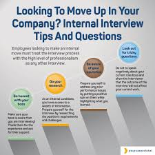 Interview Tips Looking To Move Up In Your Company Internal Interview Tips Questions 4