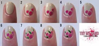 How To Do Rose Nail Art Designs - Best Nail Ideas