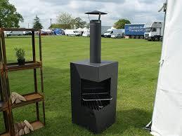 arvid steel corner fire unit heat resistant 9005 500 x 500 x 1000