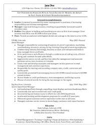 Sample Resume Format Download In Ms Word Retail Resume Templates