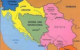 Znalezione obrazy dla zapytania bałkany mapa polityczna