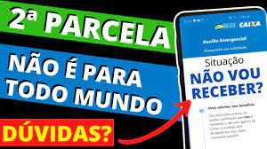 COMO E QUANDO Receber a SEGUNDA PARCELA do Auxílio Emergencial #caixa -  YouTube