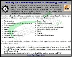 sui northern gas pipelines limited sngpl jobs nts test