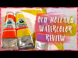 Art Supply Review Old Holland Watercolors Sadie Saves The