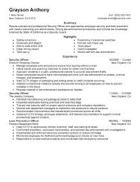 security officer duties and responsibilities security officer resume duties security officer resume samples