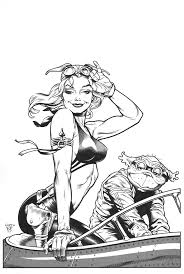 Dave Stevens Aurora Recreation Comic Art