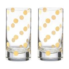 kate spade drinking glasses. Brilliant Drinking Kate Spade New York Pearl Place Highball Glass Set Of 2 On Kate Spade Drinking Glasses E