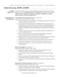 Sample Medical Worker Resume Medical Social Worker Resume Social