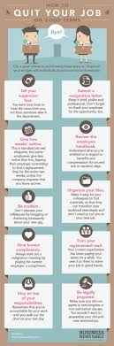 Infographic How To Quit Your Job On Good Terms