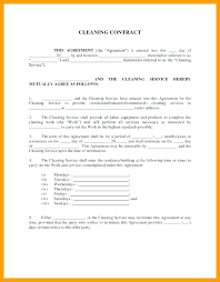 Maintenance Service Contract Template Yearly Service Contract