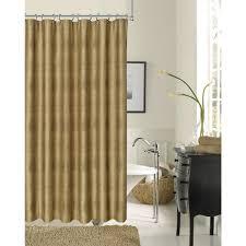 bronze fabric shower curtain