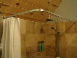 diy corner shower curtain rod curved shower curtain rod for corner shower install corner shower curtain rod