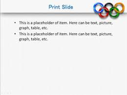 Download Free Olympic Spirit Powerpoint Template For