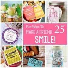 fun ways to make a friend smile