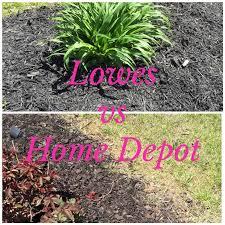 home depot mulch vs medium
