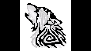 Pixel Art Loup 2 Youtube