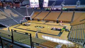 Mizzou Stadium Seating Chart Mizzou Arena Section 108 Rateyourseats Com