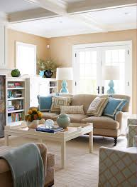 Beige And Blue Living Room Decor Design Brown and Turquoise Living Room Contemporary living room Muse 2