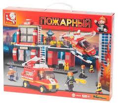 <b>Конструктор SLUBAN Пожарные спасатели</b> M38-B0225 — купить ...